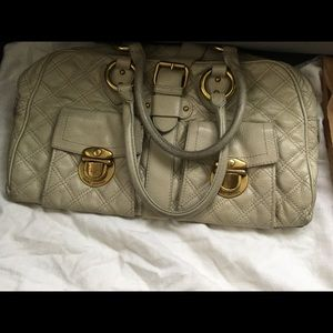 Marc Jacobs Leather Off White Handbag